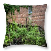 Open Air Garden Throw Pillow