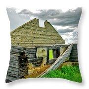 Open Floor Plan Throw Pillow