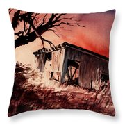 Open House Throw Pillow