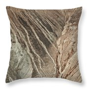 open pit mine Kennecott, copper, gold and silver mine operation Throw Pillow