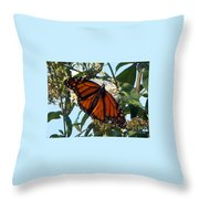 Opened Wings  Throw Pillow
