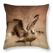 Open Wings Throw Pillow