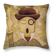 Open Your Eyes Throw Pillow