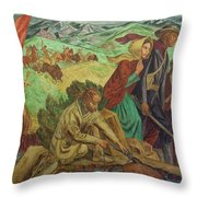 Opening Of The Southwest Throw Pillow