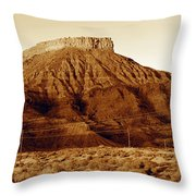 Opening Of The West Throw Pillow