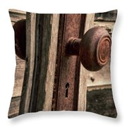Opening The Past Throw Pillow