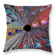Opening To The Future Throw Pillow