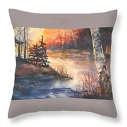 Opeongo Lake, Algonquin Provincial Park Throw Pillow