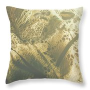 Operatic Art Throw Pillow