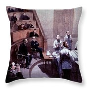 Operating Amphitheater, Administering Throw Pillow