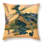 Operation Apache Throw Pillow