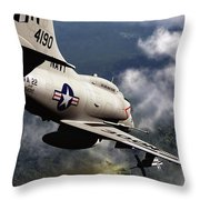 Operation Commando Hunt Throw Pillow