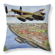 Operation Manna II Throw Pillow