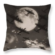 Operation Moonlight Throw Pillow