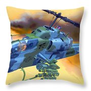 Operation Wolf Throw Pillow
