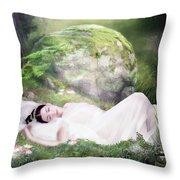 Ophelia's Peace Throw Pillow