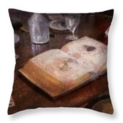 Ophthalmologist - The Poker Game Throw Pillow