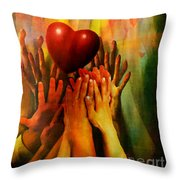 Opium Of The People Throw Pillow