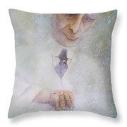 Oppenheimer Makes A Manhattan  Throw Pillow