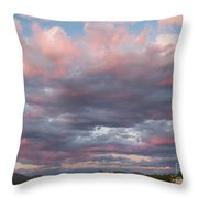 Opposite The Setting Sun Throw Pillow