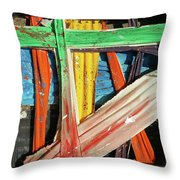 Opposites Attract Throw Pillow by John Jr Gholson