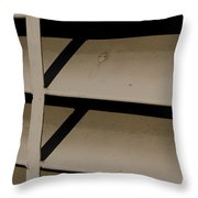 Opposition Push And Pull Throw Pillow