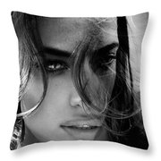 Oprah's Layers Throw Pillow