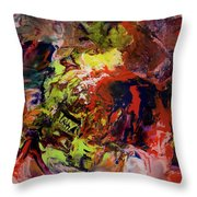 Opt.22.17 Untitled. From The 'aladdin' Series Throw Pillow