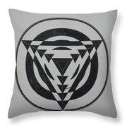 Optical Throw Pillow
