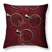 Optician - Optometrist Lens Throw Pillow