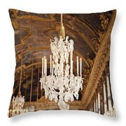Opulence - Versailles, France Throw Pillow