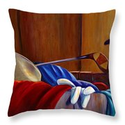 Opur's Blade Throw Pillow