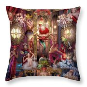 Oracle Of Visions Party  Throw Pillow