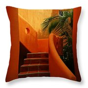 Orange Crush 2 Throw Pillow
