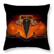 Orange Dream Throw Pillow by Susan Rissi Tregoning