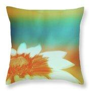 Orange Dreams Throw Pillow