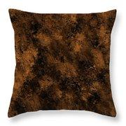 Orange Textures 001 Throw Pillow