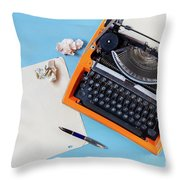 Letters To Remember Throw Pillow
