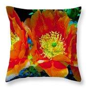 Orange3 Throw Pillow