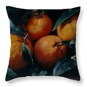 Oranges Throw Pillow