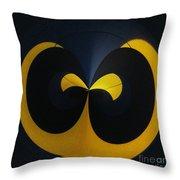 Orb 12 Throw Pillow