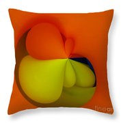 Orb 6 Throw Pillow