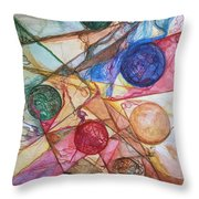 Orb Crossing.. Throw Pillow
