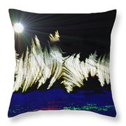 Orbit Time Throw Pillow