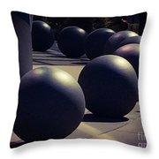 Orbital Design Throw Pillow