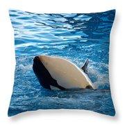 Orca 3 Throw Pillow