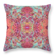 Orchard Interface  Throw Pillow