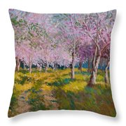 Orchard Light Throw Pillow
