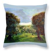 Orchard Throw Pillow