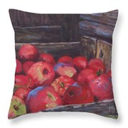 Orchard's Harvest Throw Pillow